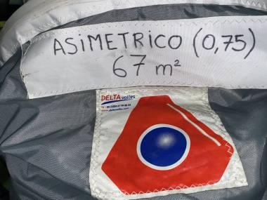 SPINNAKER ASIMETRICO Velas/Toldos