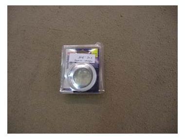 LUZ LED BLANCA PLASTICO LALIZAS CROMADO Electricidad