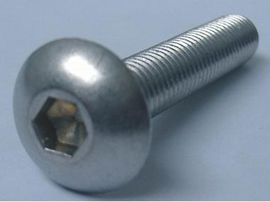 Tornillo inoxidable ISO7380 especial seguridad M8 20 unidades Equipo cubierta