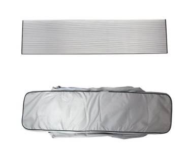 Pack Asiento Aluminio + Bolsa Neumáticas Confort a bordo