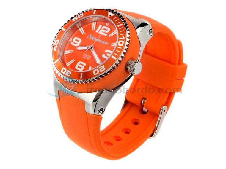 Neckmarine Reloj Big Señora Naranja