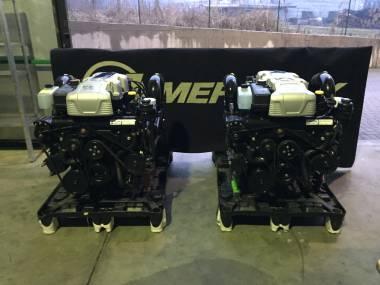 2 Motori MERCRUISER 8.2 MAG HO 430 HP  comprensivi di Piede BRAVO X Motores
