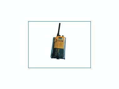 Soporte azul VHF portatil Otros