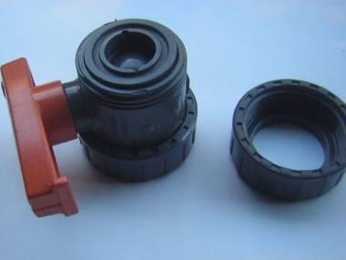 Plasson d-25-DN20-PN16 válvula de bola de PVC. Áno gira! Motores