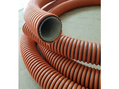 Description A lightweight PVC hose, manufactured from super elastic compounds to give increased flexibility, reinforced with a semi-rigid crush resistant white PVC helix. It is tough, flexible and extremely durable under normal operating conditions. Motores