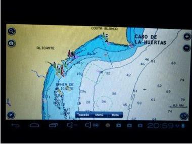 PLOTTER GPS TABLET + CARTAS EUROPA Electrónica