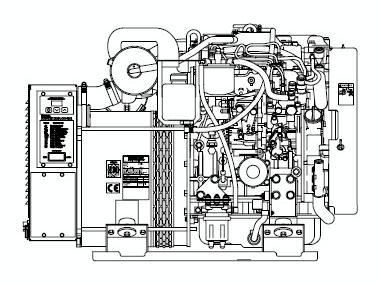 Kohler 17kw Motores