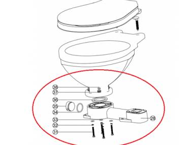 Base para Inodoro Manual LT Otros