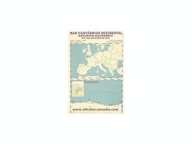 Cartas naúticas - Mapes de navegacío Varios/Decor/Libros