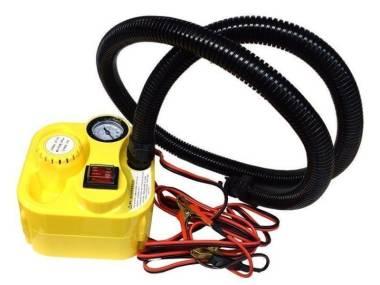 Inflador elétrico de 12 V com manômetro analógico Otros