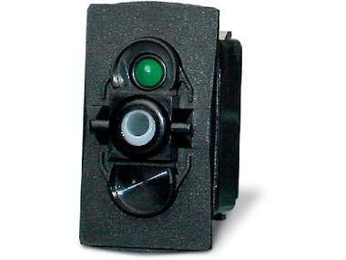 Interruptor-pulsador estanco ON-OFF-(ON) 12VDC con led Otros
