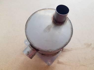 Silenciador de escape de Inox con manuera coneccion de 37 mm Motores