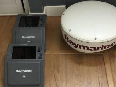 Radar raymarine Navegación