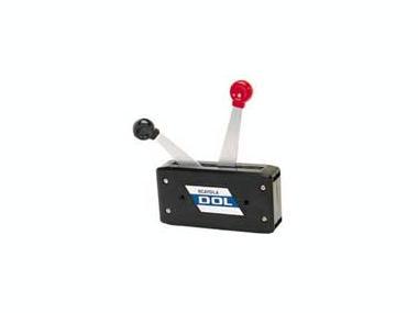 Caja De Control Doble Palanca Motores