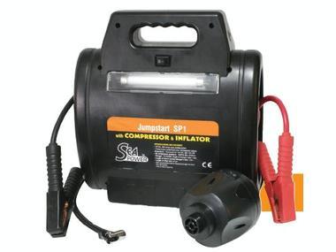 Arrancador y Compresor Sea Power Jumpstart SP1 Electricidad