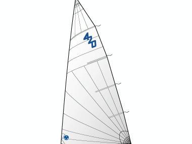 Mayor 420 trirradial North Sails Velas/Toldos