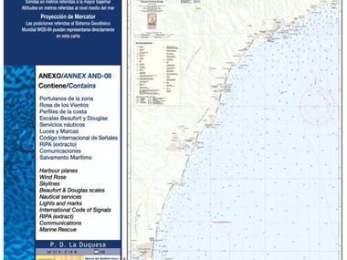 Carta Nautica Estepona-Punta Europa Navegación