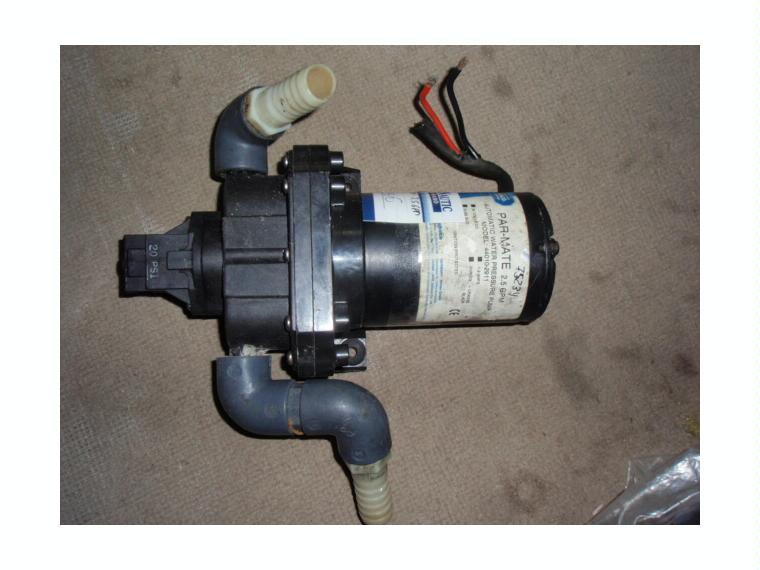 Bomba presion agua flojet 24v 2 5gpm c presos em segunda - Bomba presion agua ...