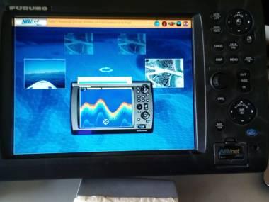 Furuno Multifuncion MFD 12 Pulgadas 3D con Transductor. Electrónica