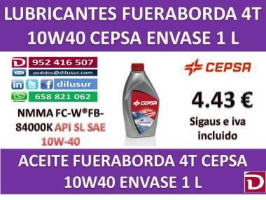 ACEITE FUERABORDA CEPSA 4T 1 L Motores