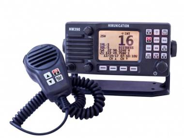 HIMUNICATION HM390 - VHF FIJA SIN DSC Electrónica