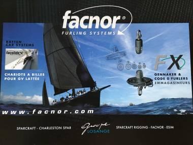 Enrollador Facnor FX Gennaker Code 0 Furler Equipo cubierta