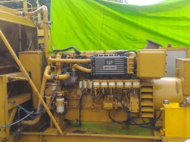 Caterpillar C18 Marine gen set Motores