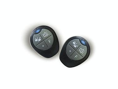 Radio comando programable de cuatro botones Seguridad