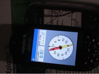 GPS Magellan Explorist Xl + cartas Electrónica