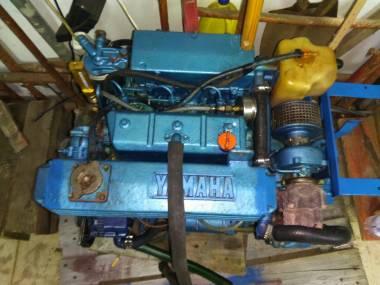 Motor intraborda turbo diesel Yamaha Motores