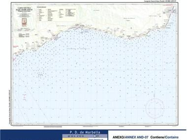 Carta Nautica Fuengirola-Punta de Baños Navegación