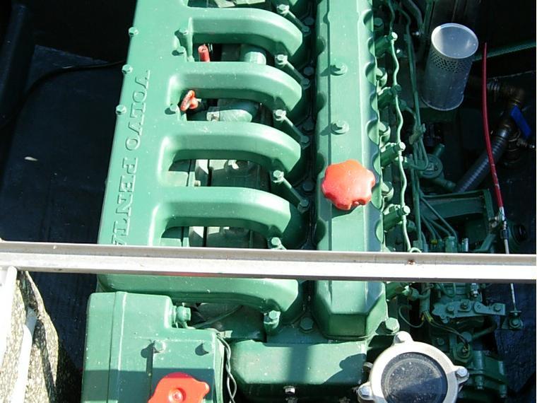 motor volvo penta aqad40a 155cv  de segunda mano 55556