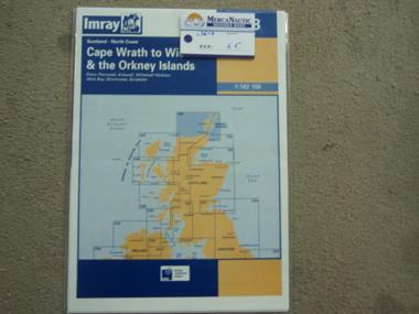 X CARTA CAPE WRATH TO WICK & THE ORKNEY ISLANDS Navegación