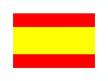 Bandera España 35 x 45 cm Navegación