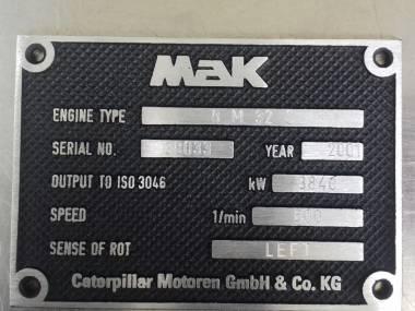 MOTOR PRINCIPAL MARINO CATERPILAR 8M32C Motores