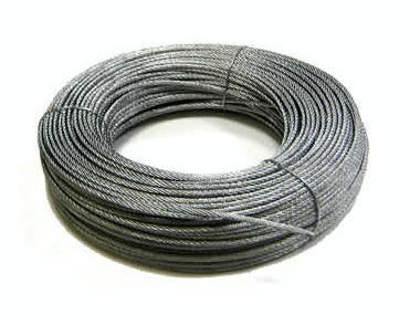 Cable galvanizado 6x19+1 (por metro) Equipo cubierta