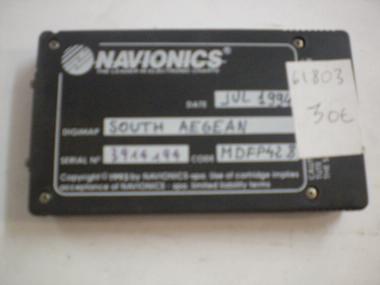 CARTA NAUTICA ELECTRONICA NAVIONICS