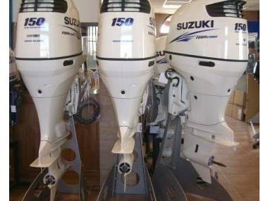 2017 Used Suzuki 150HP 4-Stroke Outboard Motor Engine Motores