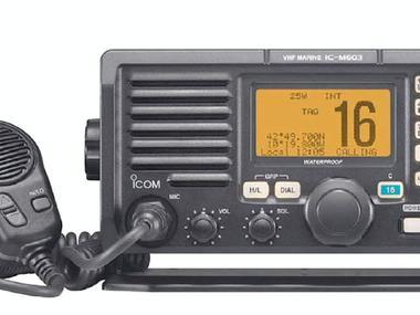 Emisora VHF IC-M603 C/DSC clase D Opción Doble est., Opción Megaf. ICOM Electrónica