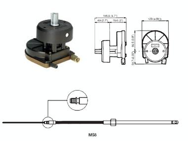 Ultraflex Kit de Direccion T67 Rotech-IV Otros
