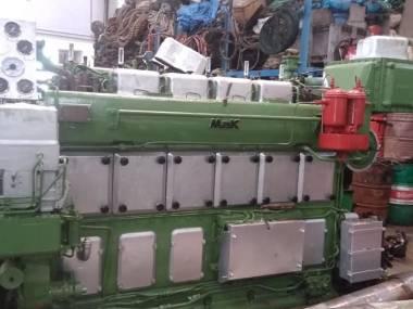 marine engine MAK 6M331-AK Motores