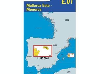 E 01 Mallorca Oeste   Menorca Equipo cubierta