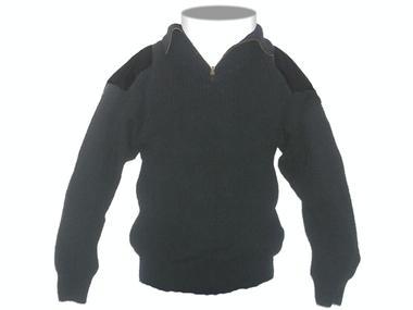 Jersey cuello alto con cremallera Moda y complementos