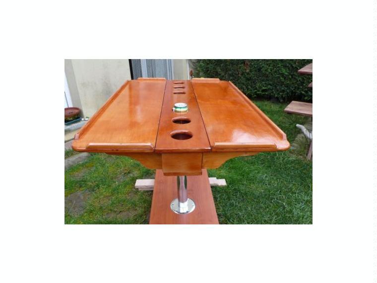 Mesa plegable para barco de segunda mano 50685 cosas de for Mesa digital segunda mano