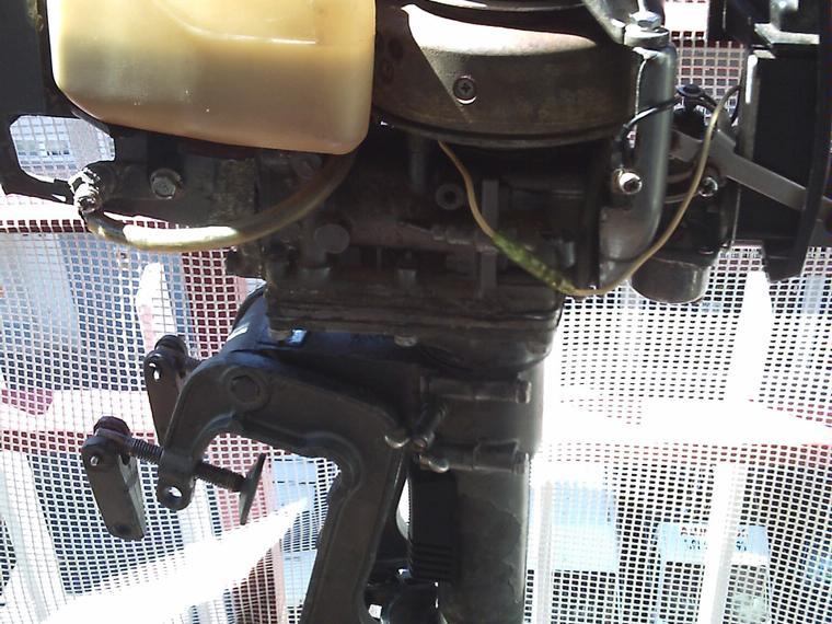 motor fuera borda para auxiliar 2 cv mariner de segunda