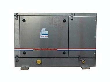 10 - Panda PMS 30 NE, Kubota, 25,5 kW / 30,0 kVA, agua dulce Electricidad