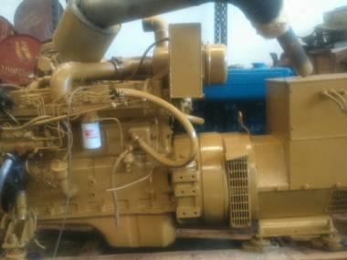 MARINE AUXILIAR ENGINE CUMMINS 6BTA 120 KVA Motores