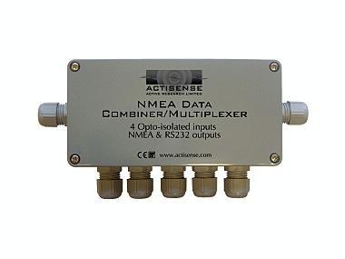 Combinador de datos NMEA programable NDC-2 Electrónica
