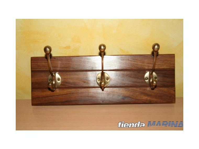 Perchero en madera b647 otros 45154 cosas de barcos - Percheros en madera ...