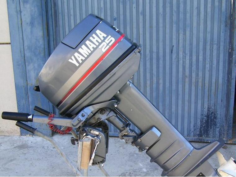 motor 25 cv  yamaha  inpecable  em segunda m u00e3o 52545